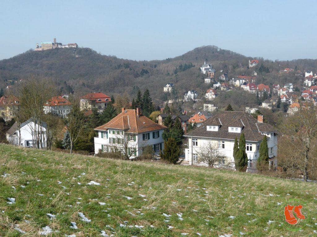 Eisenach; zu Fuss unterwegs; auf Reisen; Heimat; Wartburgstadt; Stadtspaziergang; wandern; gehen