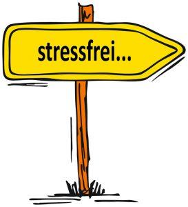zuFussunterwegs am Bahnhof; Stress im Alltag schlaue Tipps