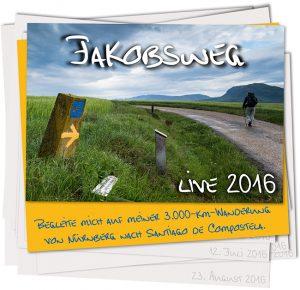 zu Fuss unterwegs; Jakobsweg; Pilgern