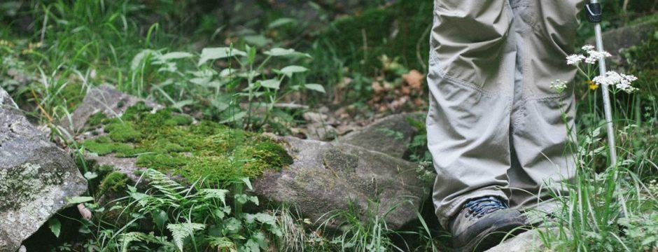 zu Fuss unterwegs beim Wandern: Erkenntnisse eines Anfängers