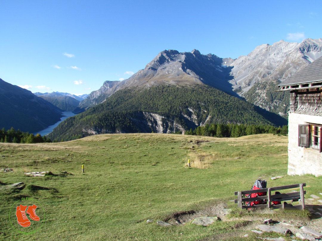 Schweizer Nationalpark - Alp la Schera - ein Postkartenidyll