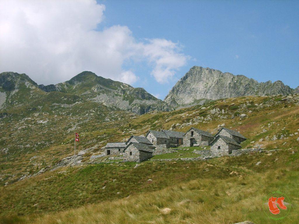 Wandern im Tessin - rustikale Unterkünfte mit Charme