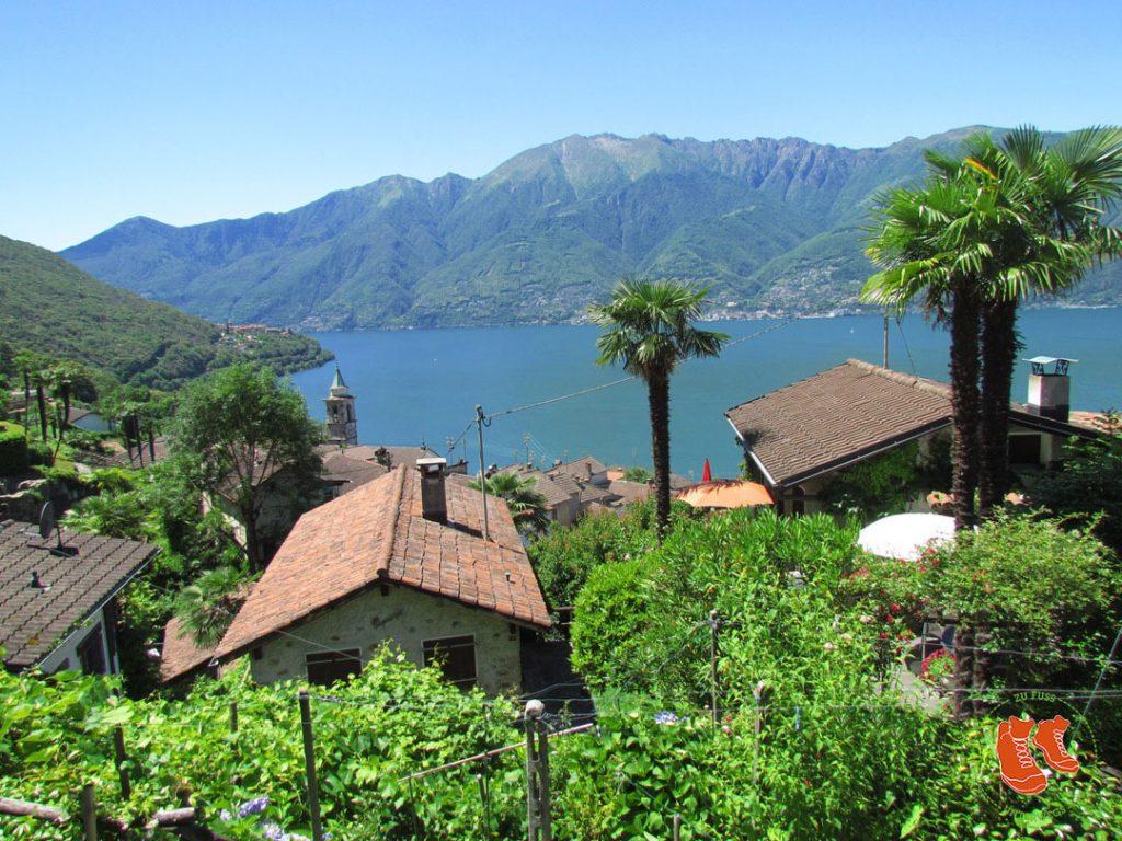 Wandern im Tessin - Stadt und Land