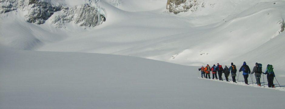 6 tolle Anbieter für eine Schneeschuhwanderung in der Schweiz