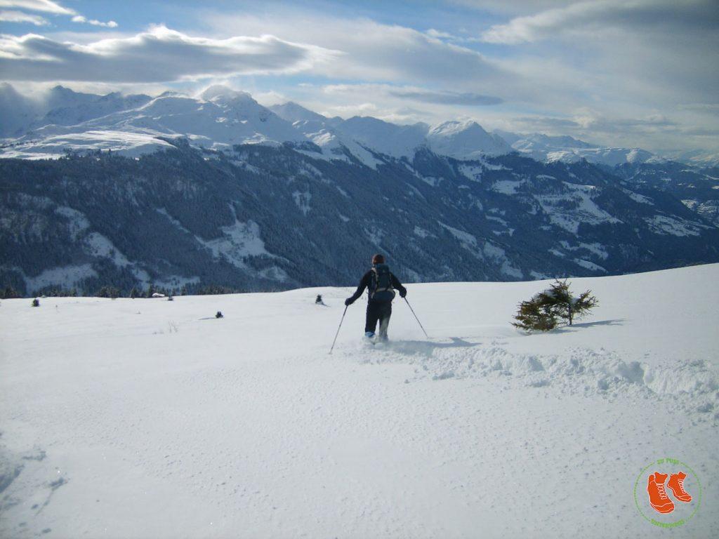 zuFussunterwegs - Schneeschuhwanderung in der Schweiz