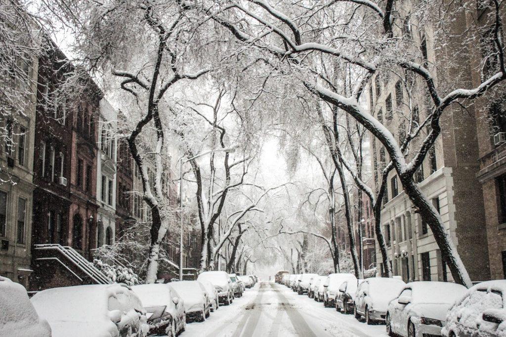 zuFussunterwegs - der Winter als ein Grund, in ihn einzutauchen