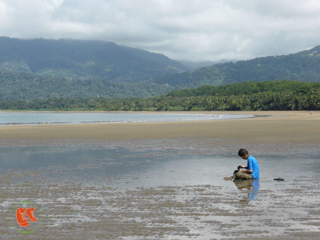 zuFussunterwegs in Costa Rica: endlose Strände