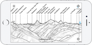 zuFussunterwegs - Outdoor Apps: Peakfinder Earth