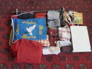 Meine überschaubare Packliste für einen Fernwanderweg