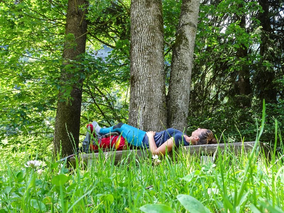 Heike Burch Moliri: Entschleunigung auf einer Alpenüberquerung
